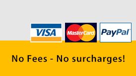 Payment no fees no surcharges
