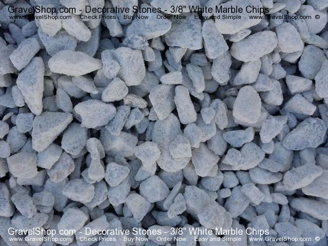 3 8 Quot White Marble Chips